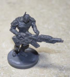 Enforcer with Burst Laser