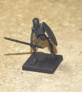 Skeleton with Spear and Shield