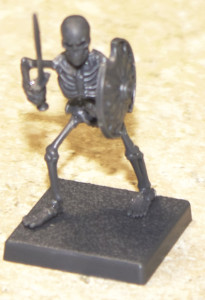 Skeleton with Sword and Shield