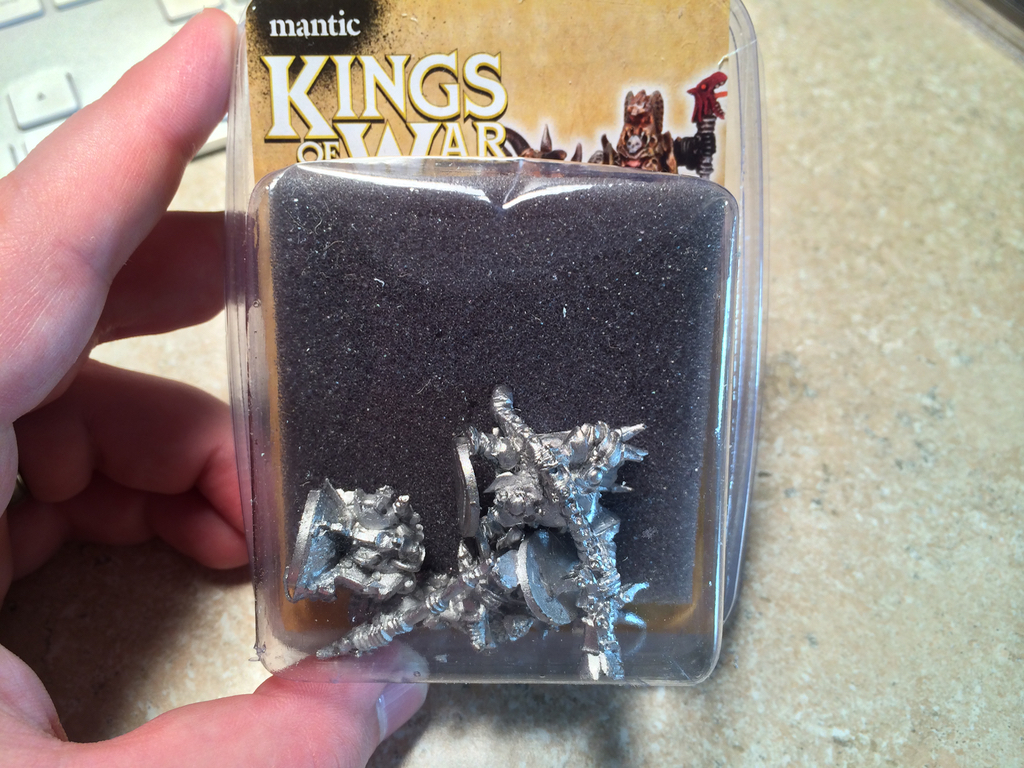 Mantic Abyssal Dwarf Metal Blister Multi-Review